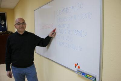 Javier Borja responsable de Recursos Humanos de Cablebox